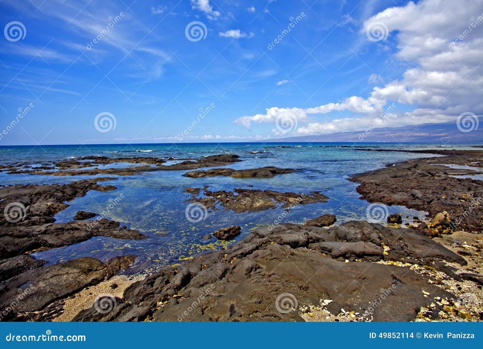Puako海洋场面
