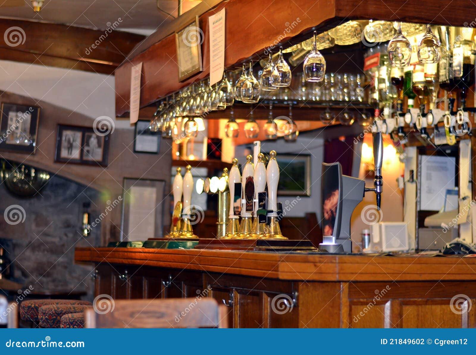 Pub Bar Stock Photo Image Of Drink Pint Wood Lounge