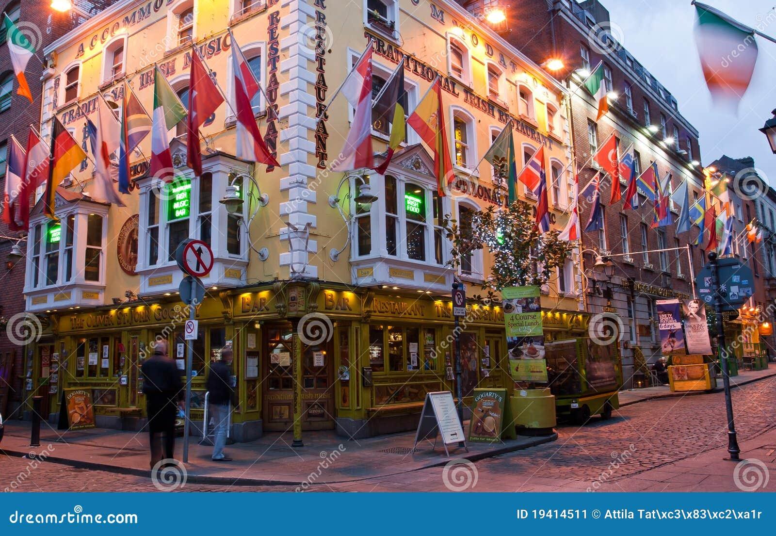 Pub Dublín de Oliverio San Juan Gogarty