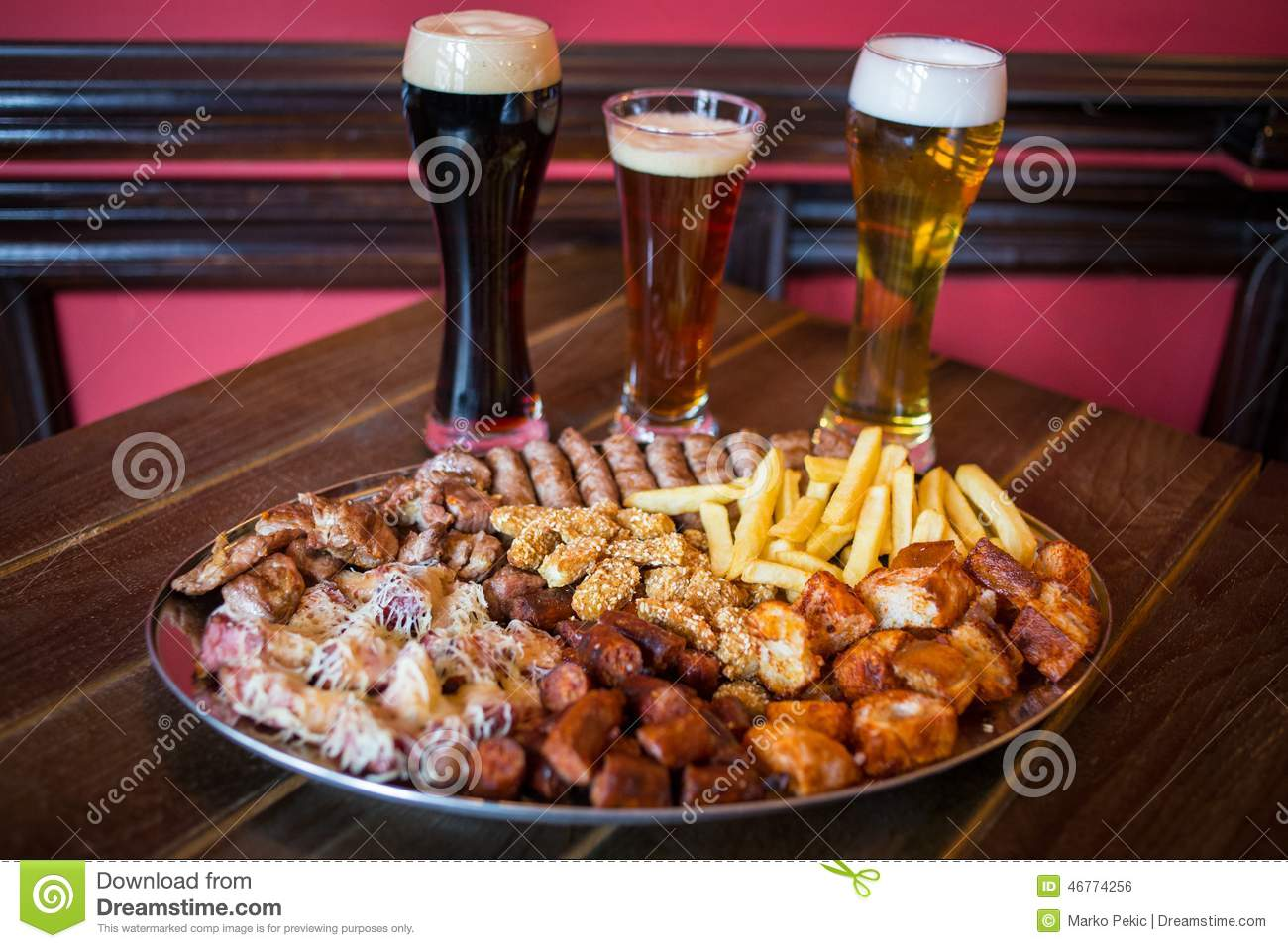 Pub food stock photo image 46774256 for Bar food yummy