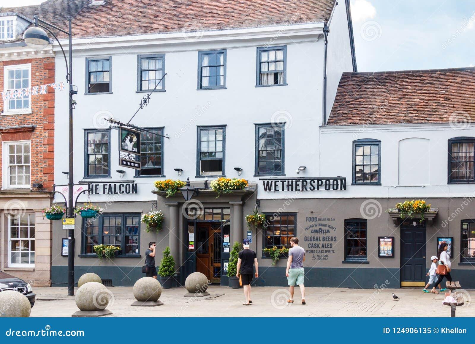 Pub High Wycombe del halcón