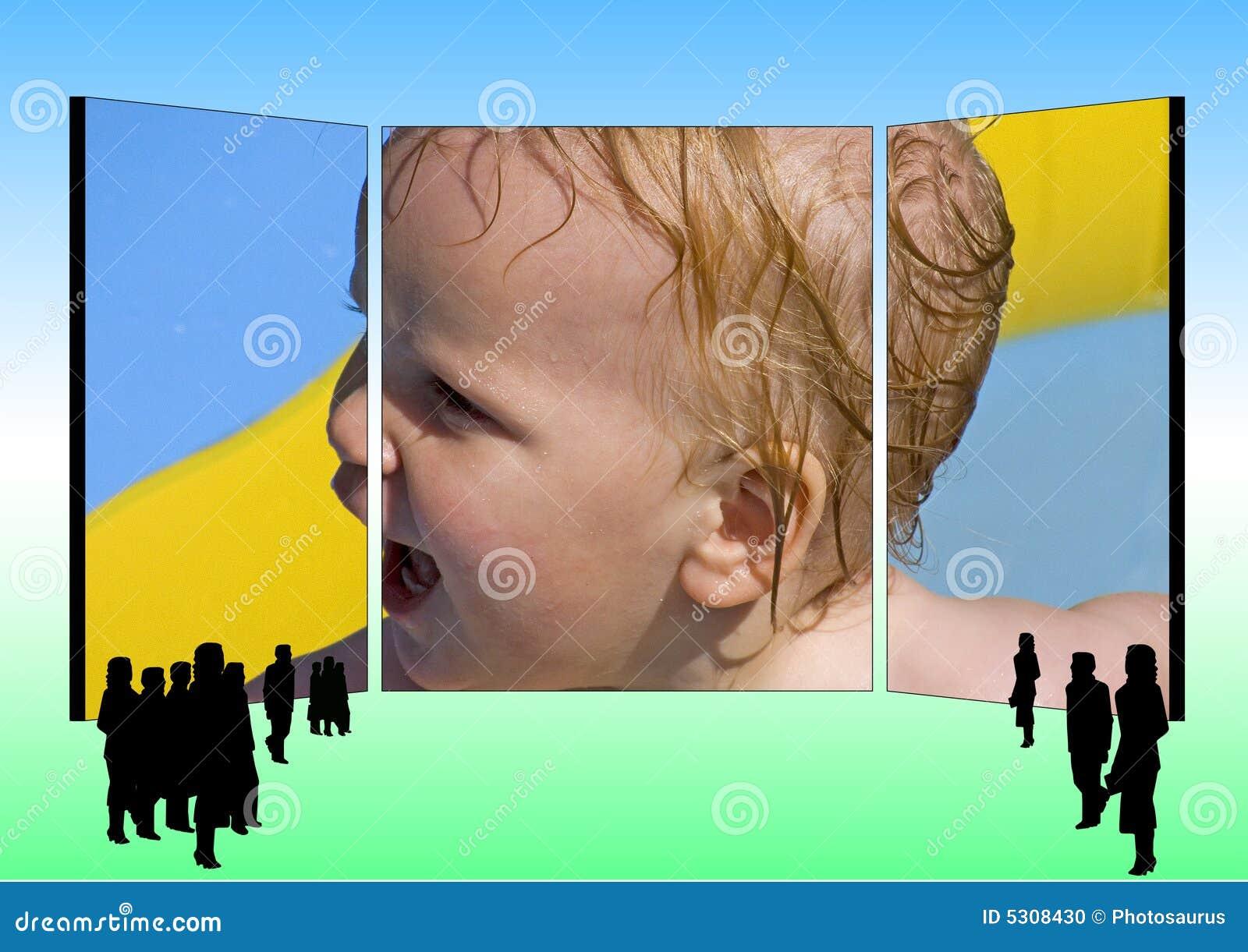 Download Pubblicità Del Tabellone Per Le Affissioni Illustrazione di Stock - Illustrazione di padre, madre: 5308430