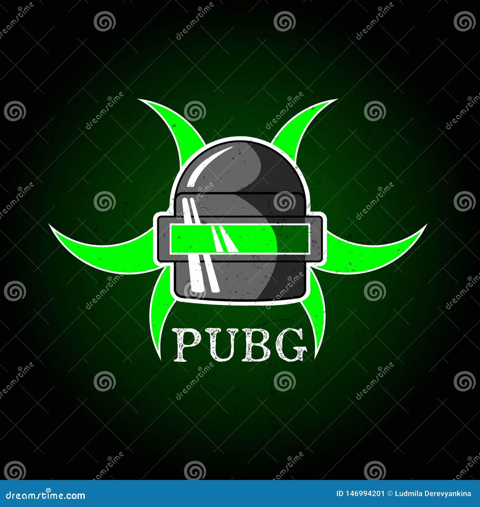 Pubg Playerunknowns Battlegrounds Game Vector Helmet From