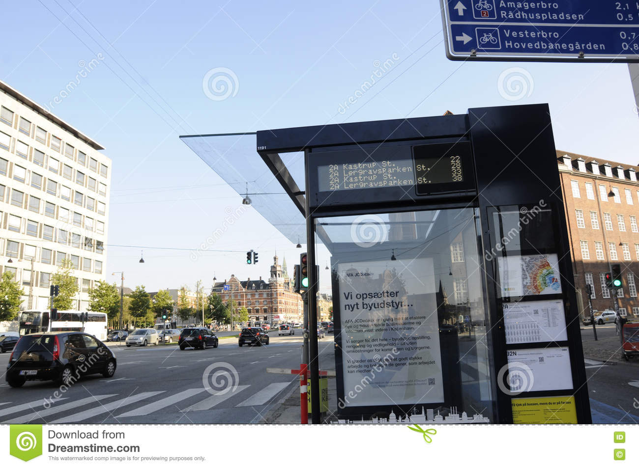 09 September 2016- Timebale of buses for public service in Copenhagen /  Denmark / Photo.