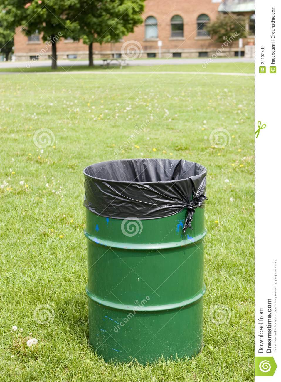 Public Garbage Can Royalty Free Stock Images Image 21102419