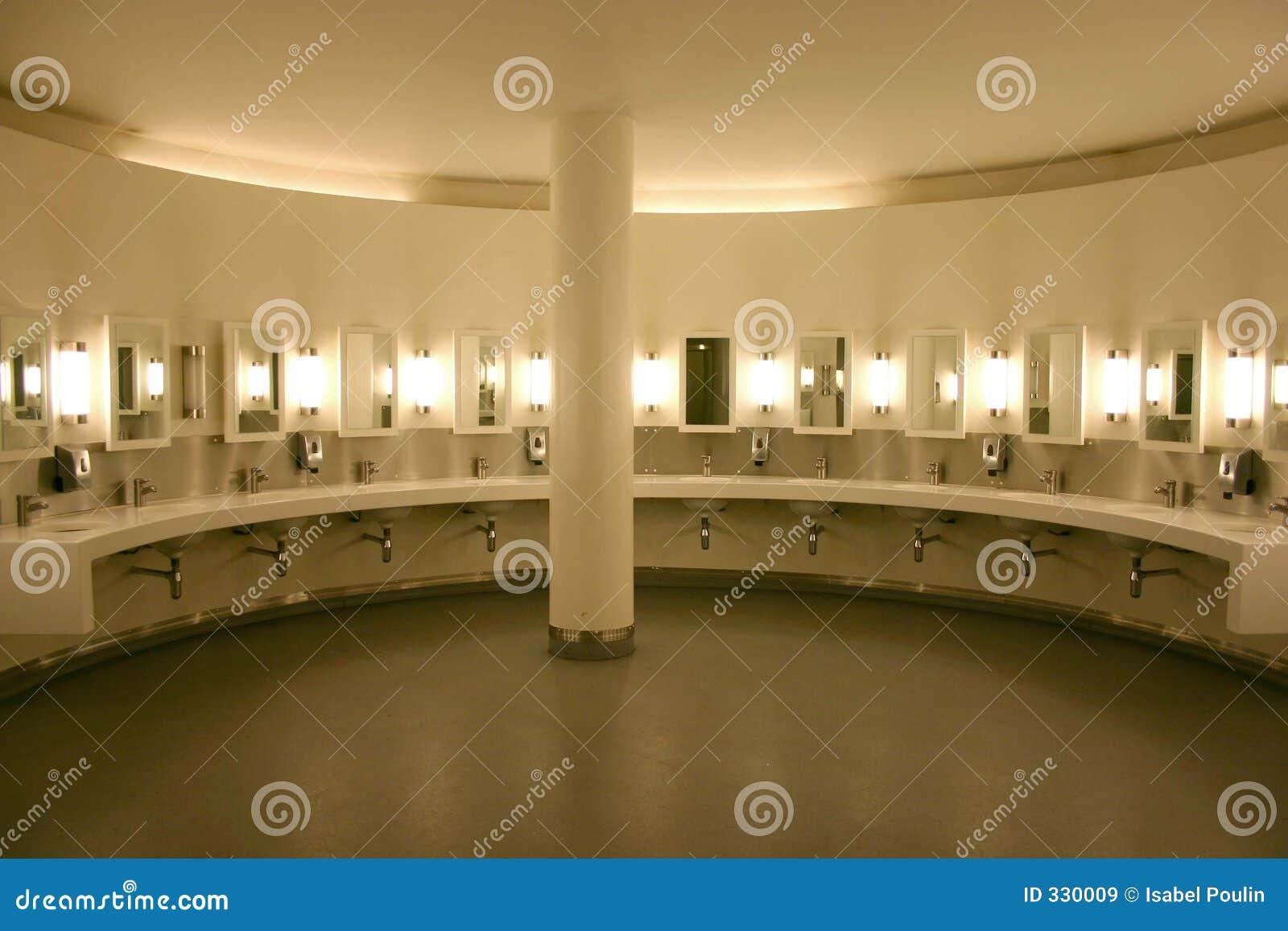 Public Lavatory Stock Image Image Of White Lavatory