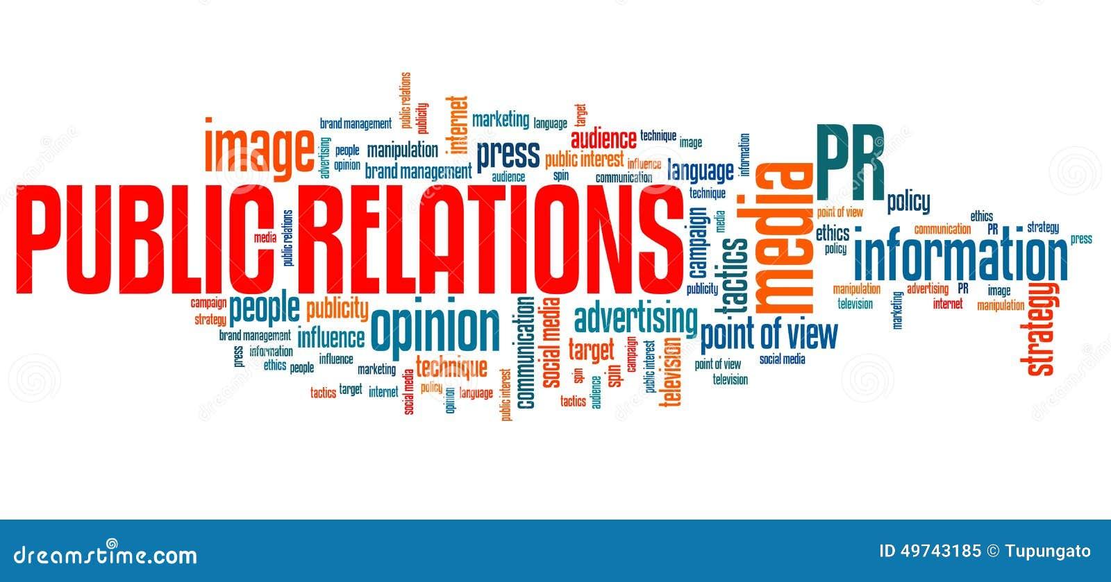 Public Relations Stock Illustration Image 49743185