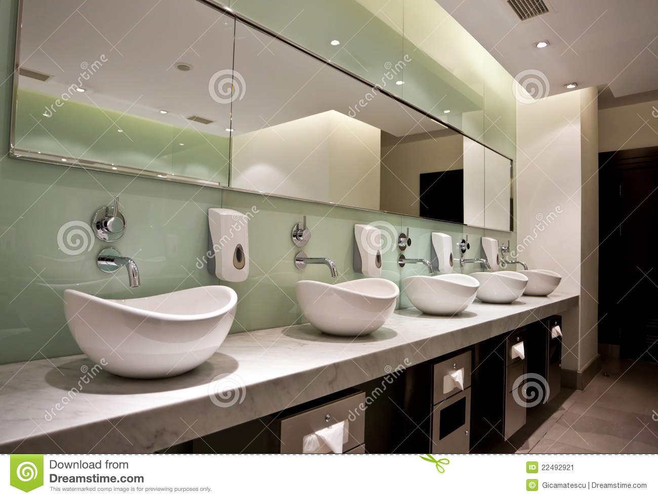 Public Restroom Stock Image Image 22492921