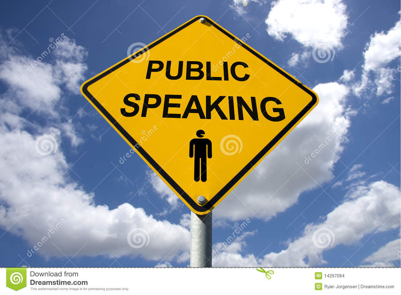 Https Www Dreamstime Com Stock Images Public Speaking Sign Image14297094