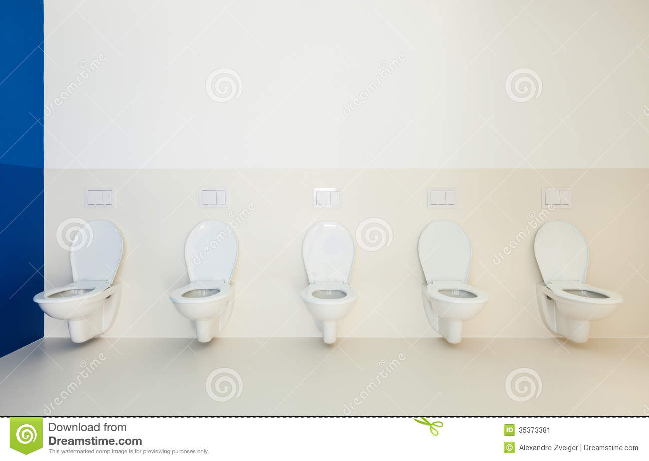 Public toilets stock image. Image of design, many, sanitary - 35373381