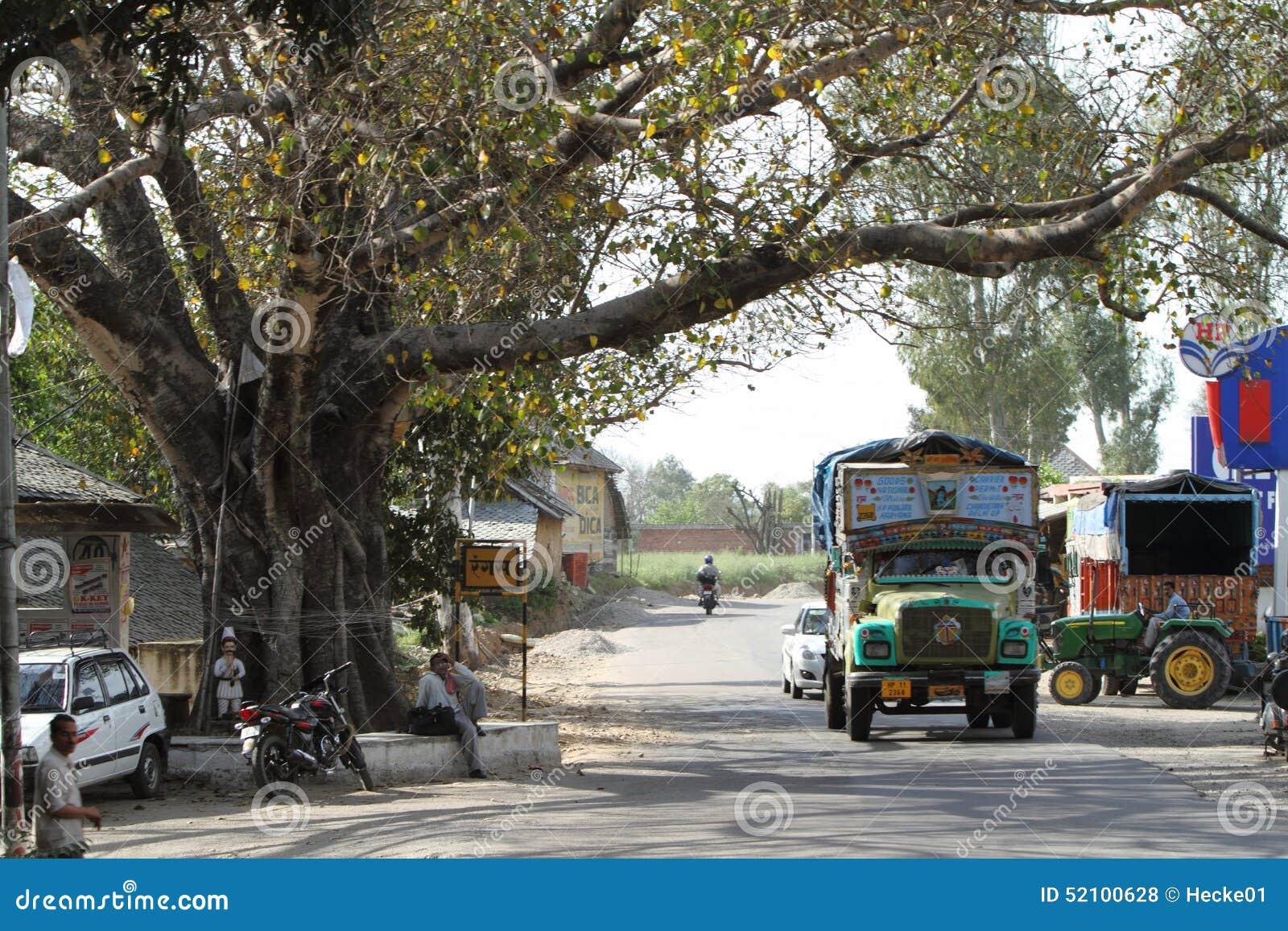 Public Transportation In India Editorial Stock Photo - Image