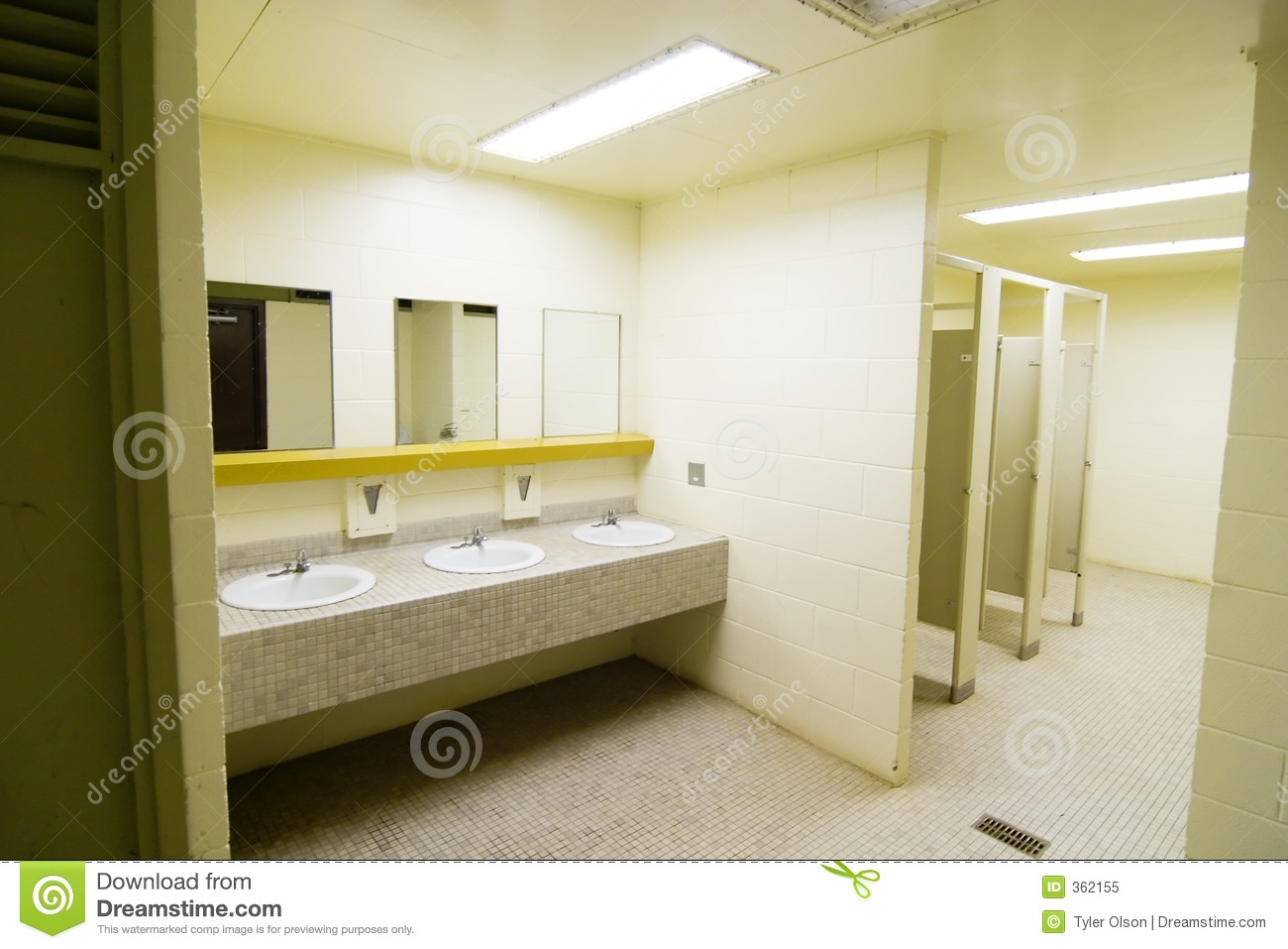 Download Public Washroom Stock Image. Image Of Used, Tile, Closet   362155