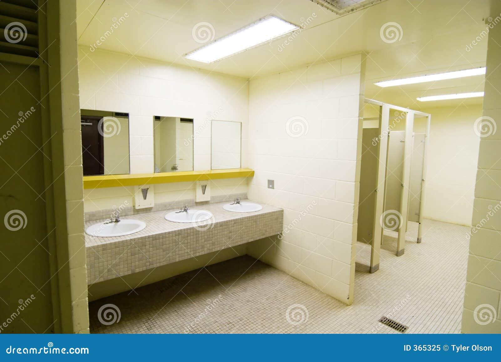 Public Washroom stock image. Image of spring, bathroom - 365325