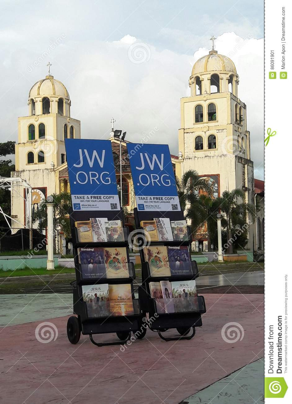Public Witnessing Cart editorial photo  Image of brochures - 86091901