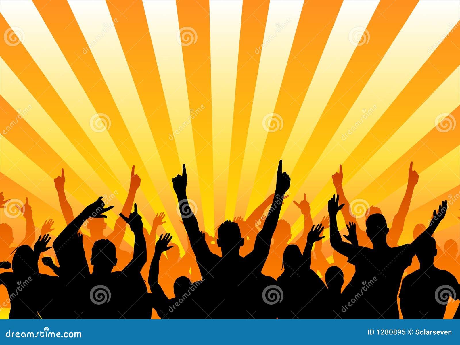 Publiczność szczęśliwa