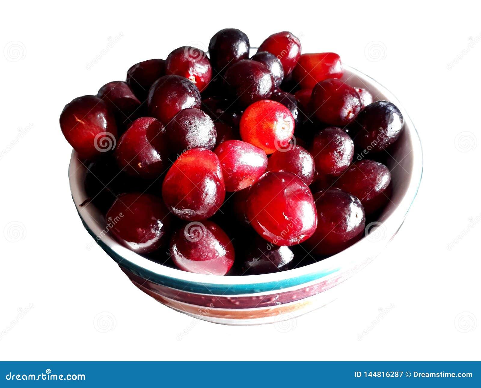 Puchar świezi winogrona