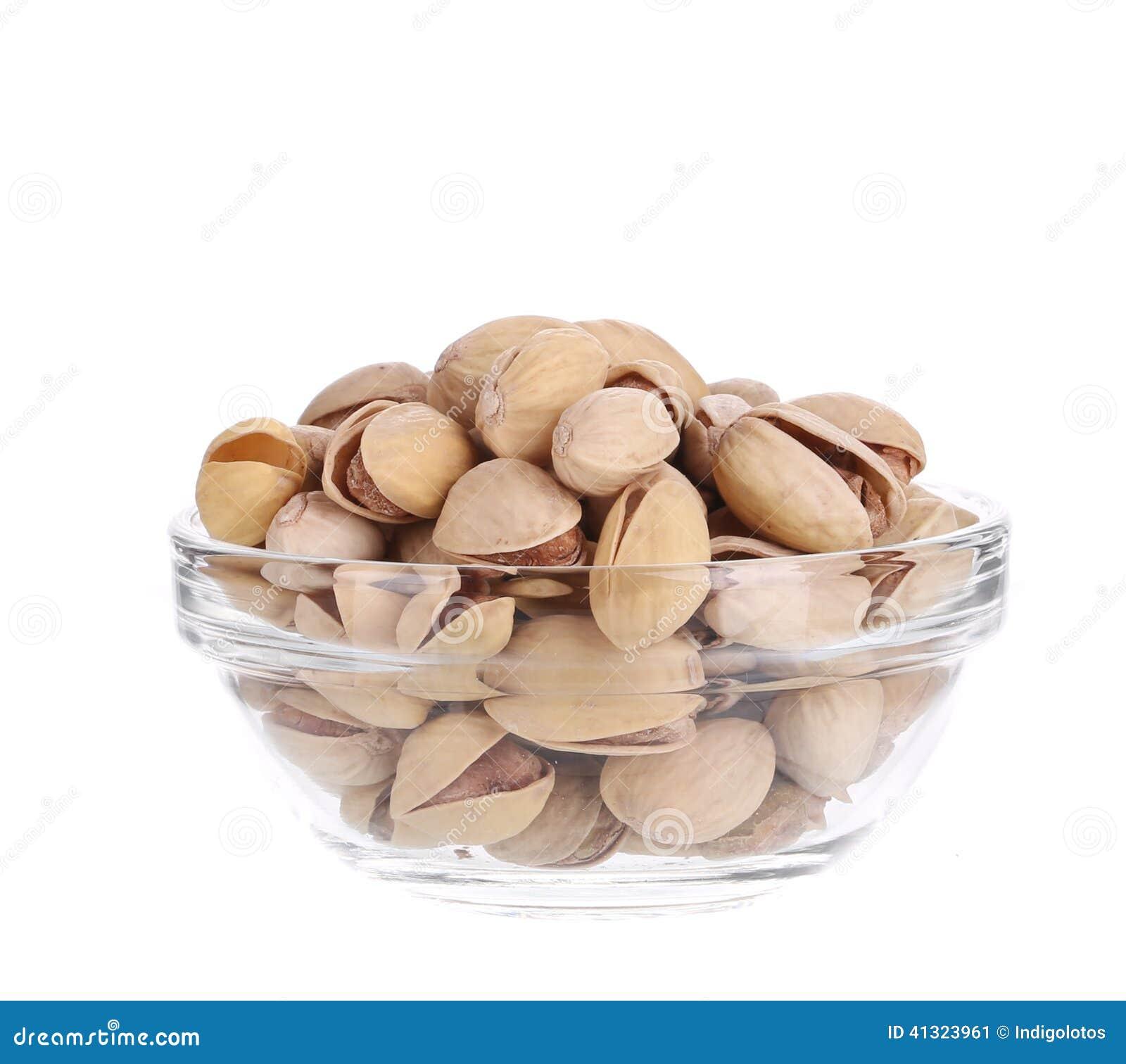 Puchar folujący z pistacjami