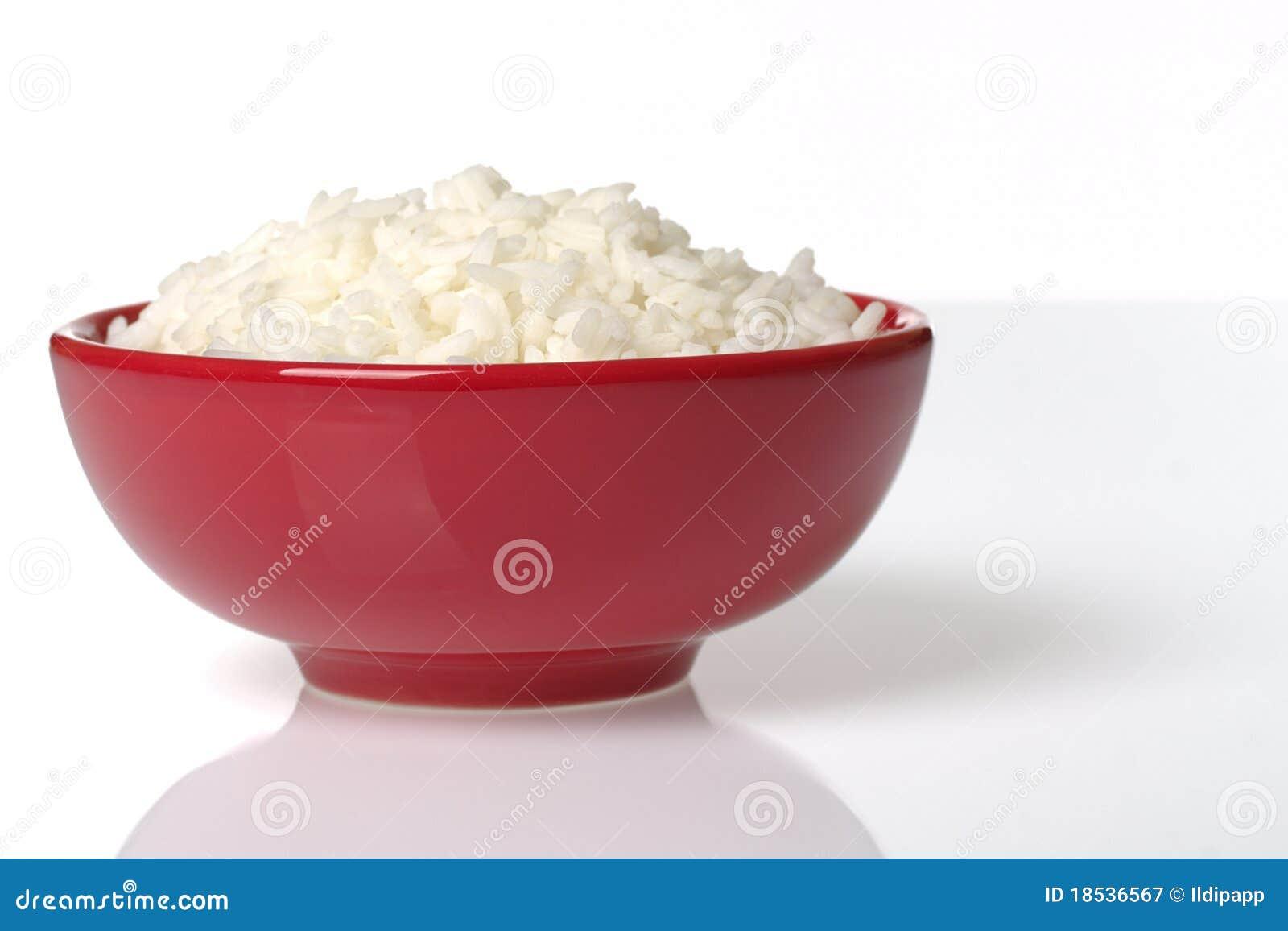 Puchar gotujący czerwoni ryż