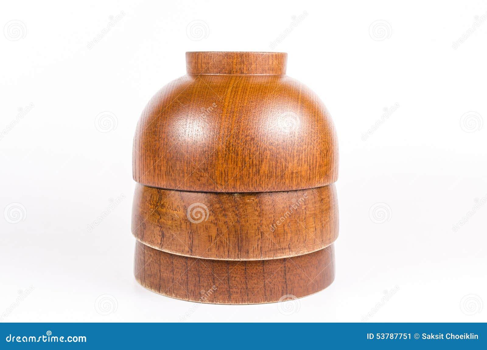 Pucharu drewniany stary