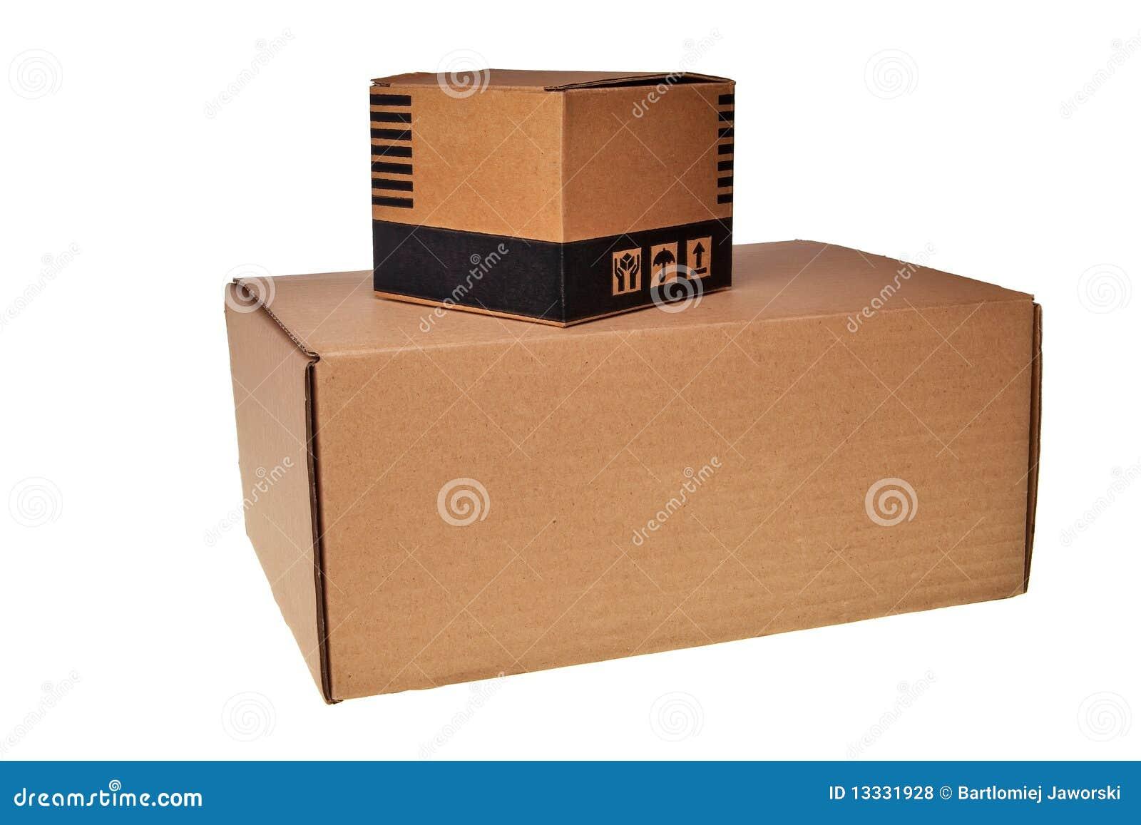 Pudełek brąz karton