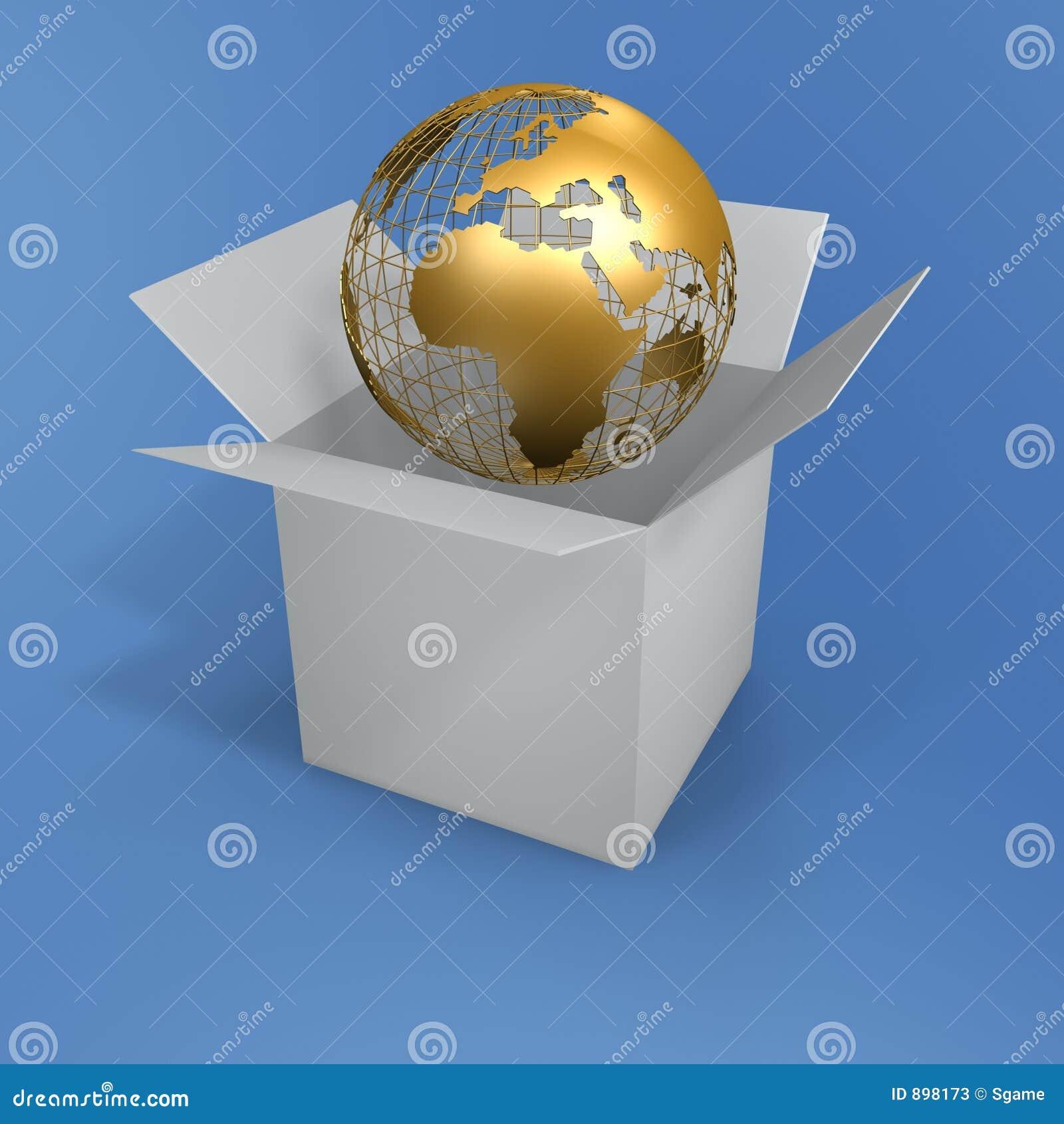 Pudełkowata globe otwarta