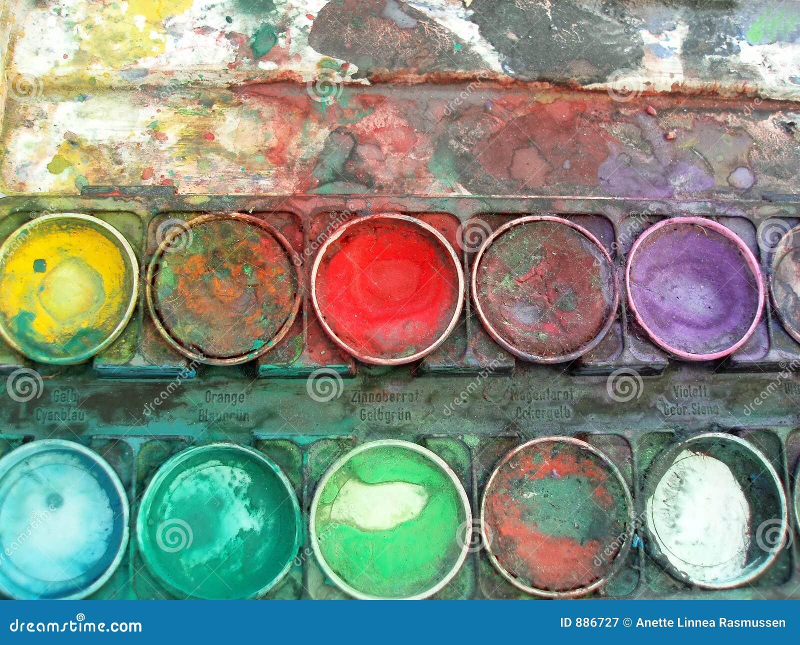 Pudełkowata paleta kolorów
