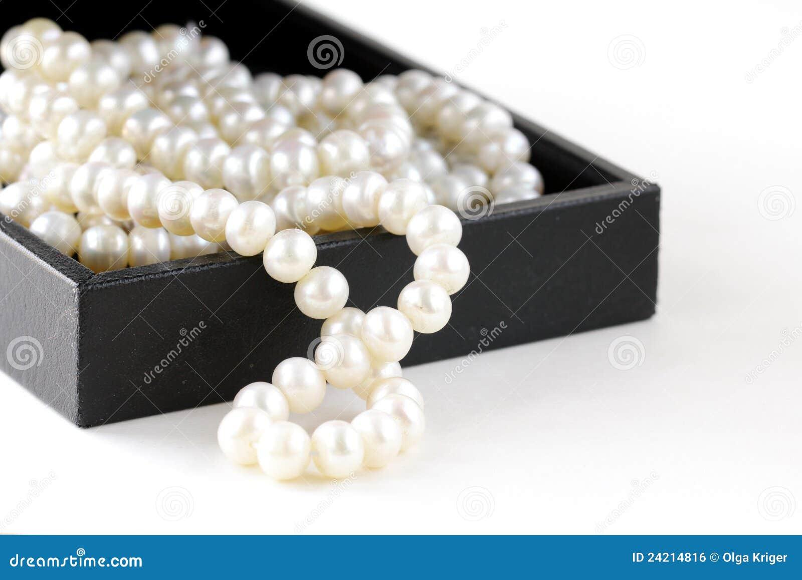 Pudełkowate prezenta macro perły