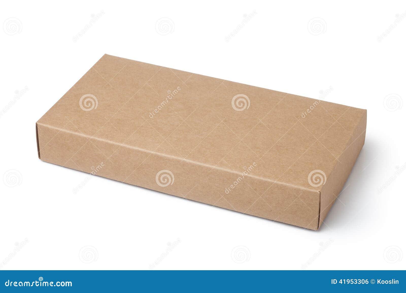 Pudełkowatego kartonu odosobneni cienie biały