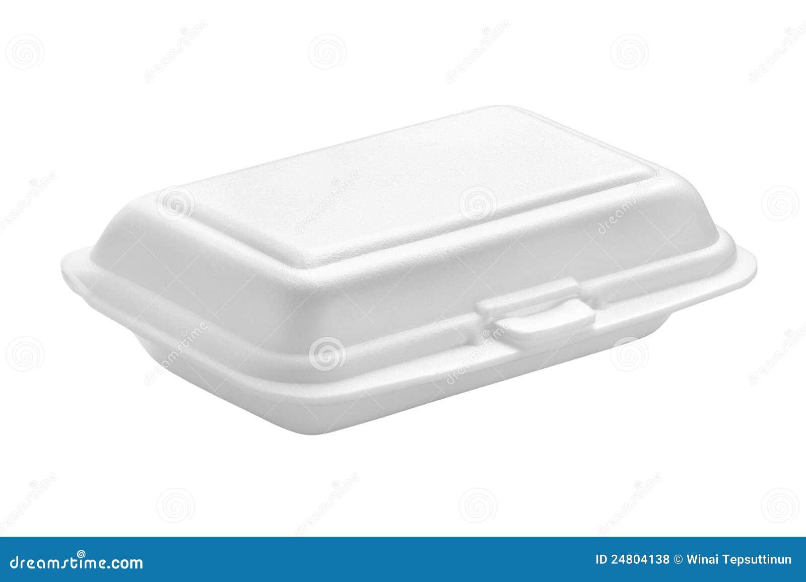 Pudełkowaty styrofoam
