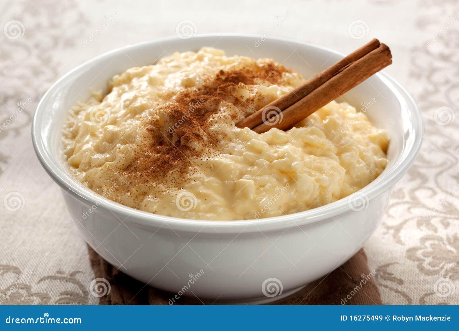 Pudim de arroz