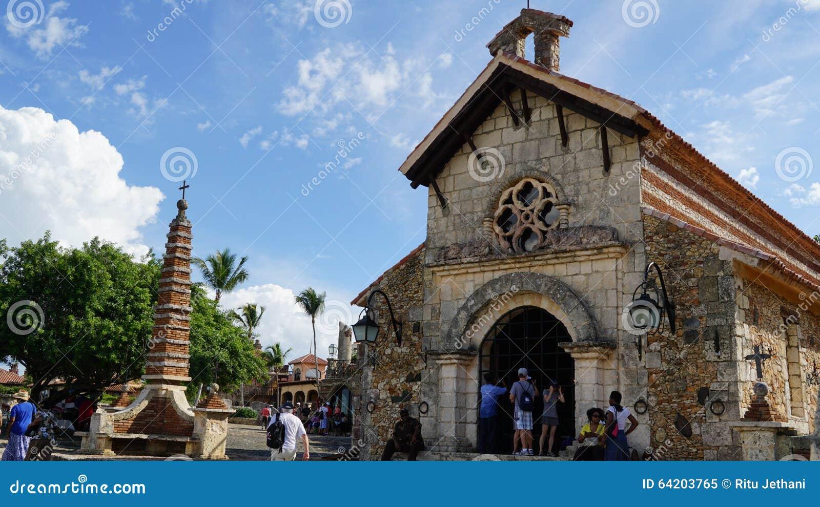 Pueblo de Altos de Chavon en el La Romana