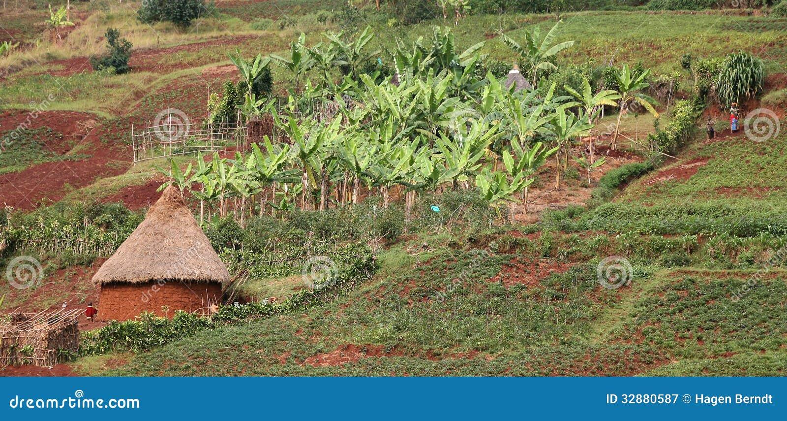 Pueblo en Kivu del sur