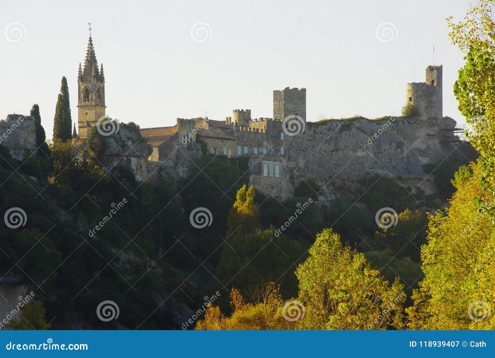 Pueblo medieval de Ardéche Francia
