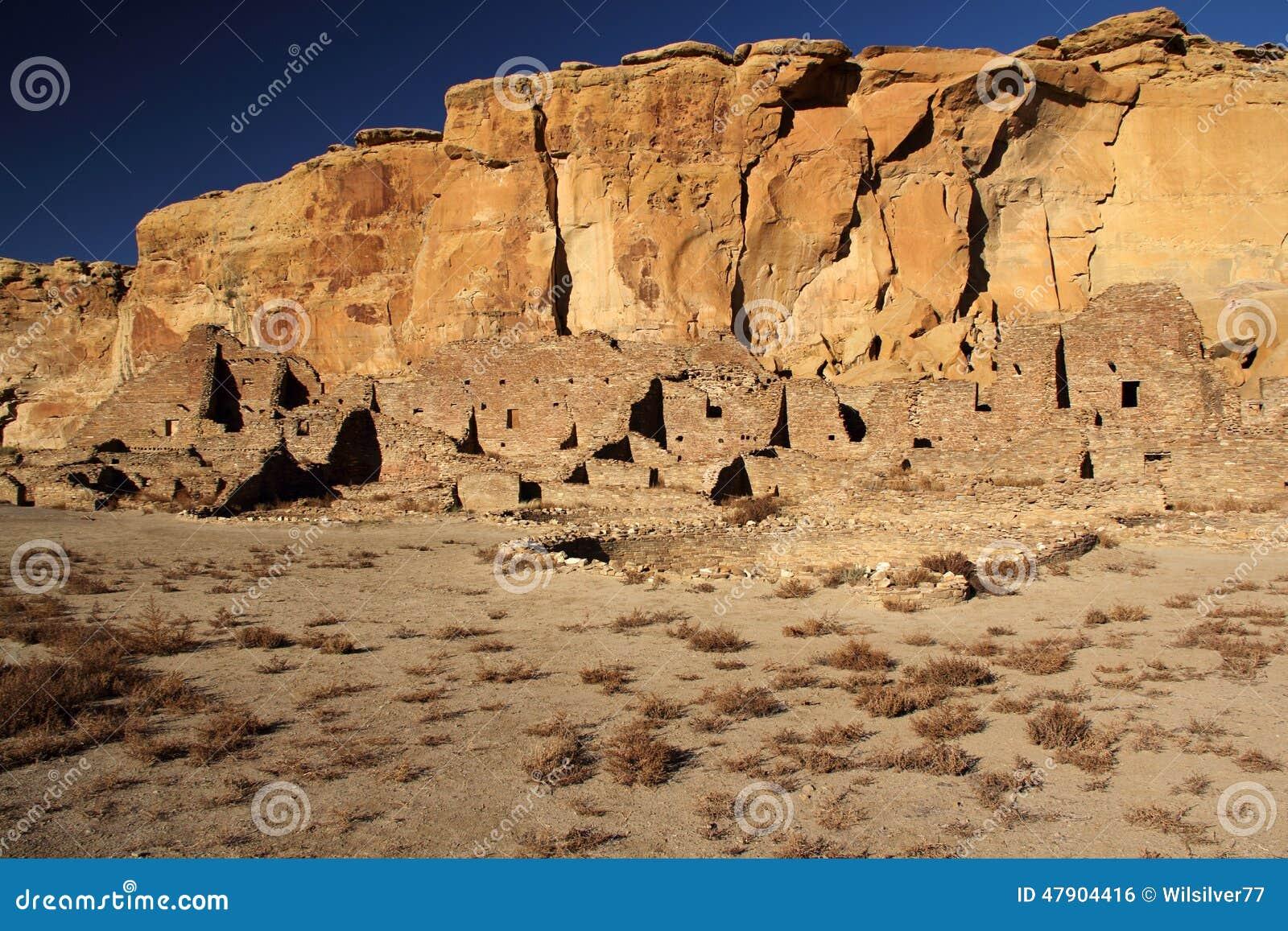 Pueblo Ruins and Kiva