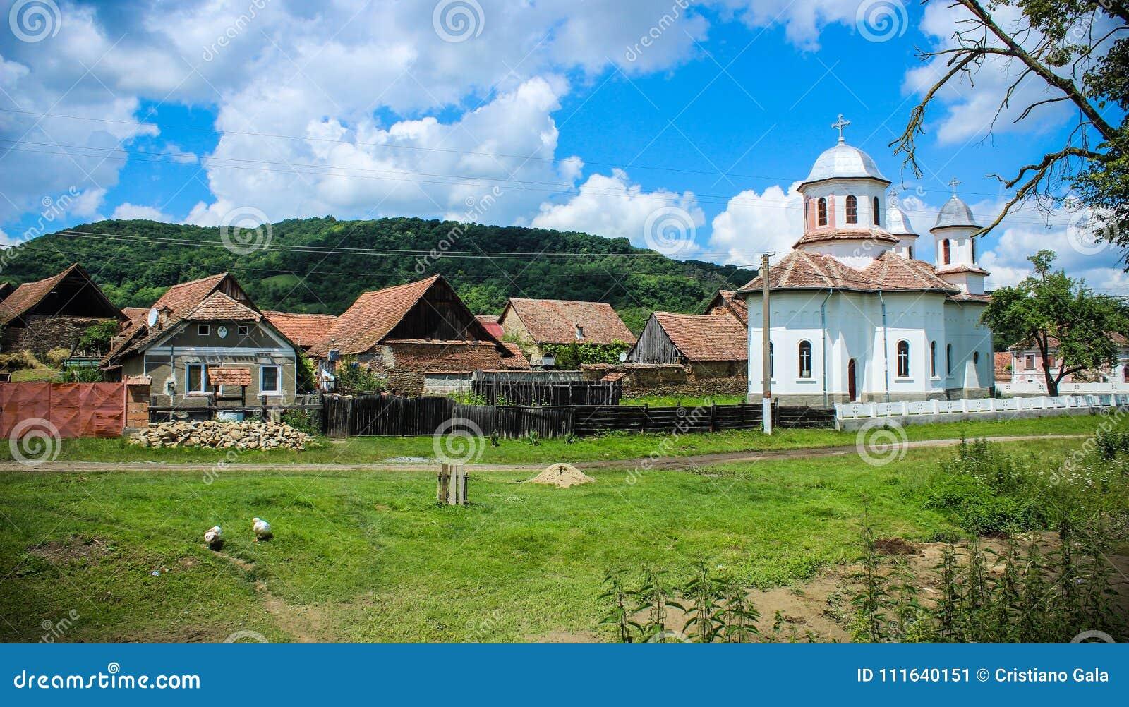 Pueblo rural de Mesendorf, Rumania