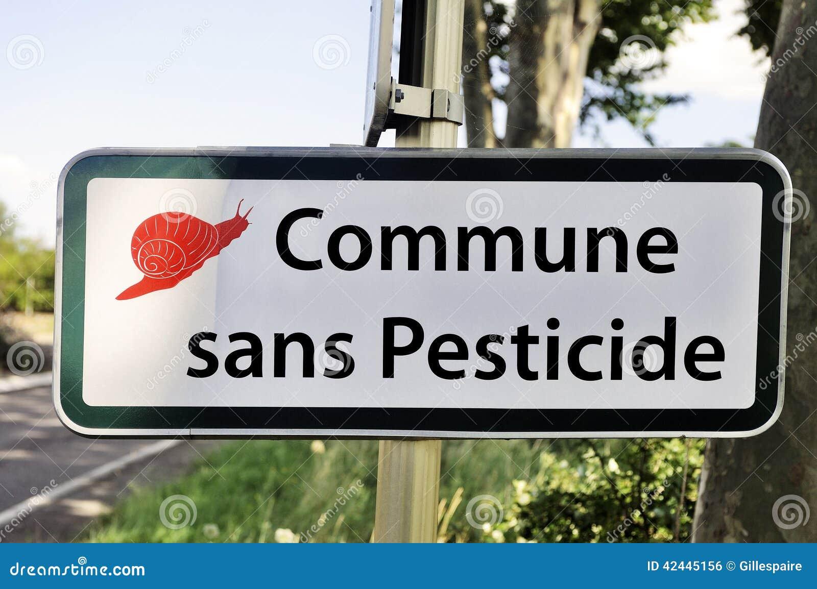 Pueblo sin el pesticida