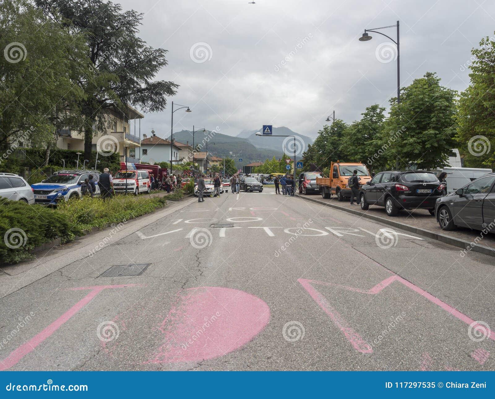 2018 pueden los 22, viaje de la bici de Italia nombraron el ` Italia de Giro d