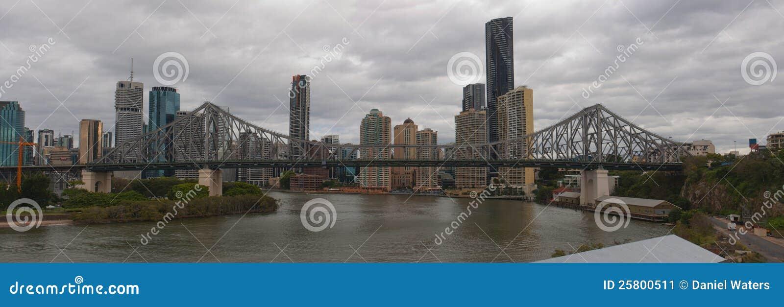 Puente Brisbane de la historia