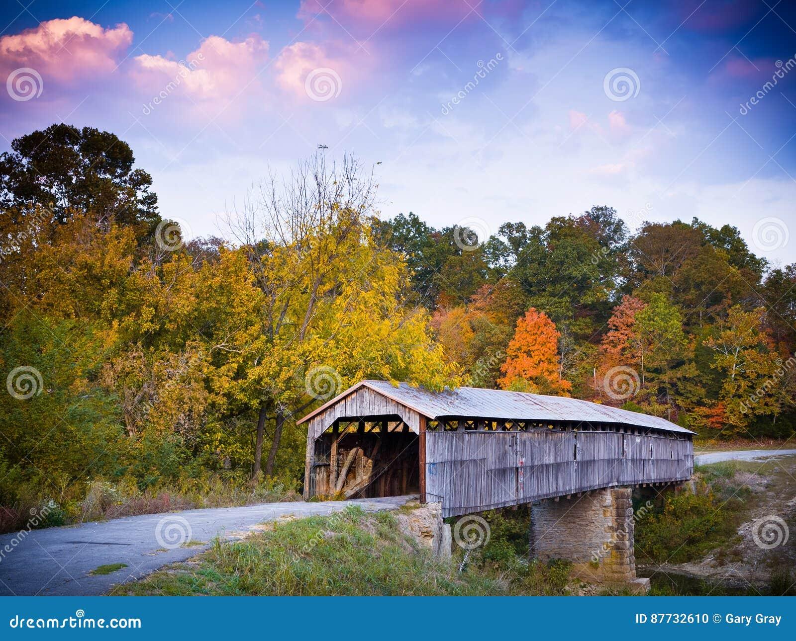 Puente cubierto de la era de la guerra civil