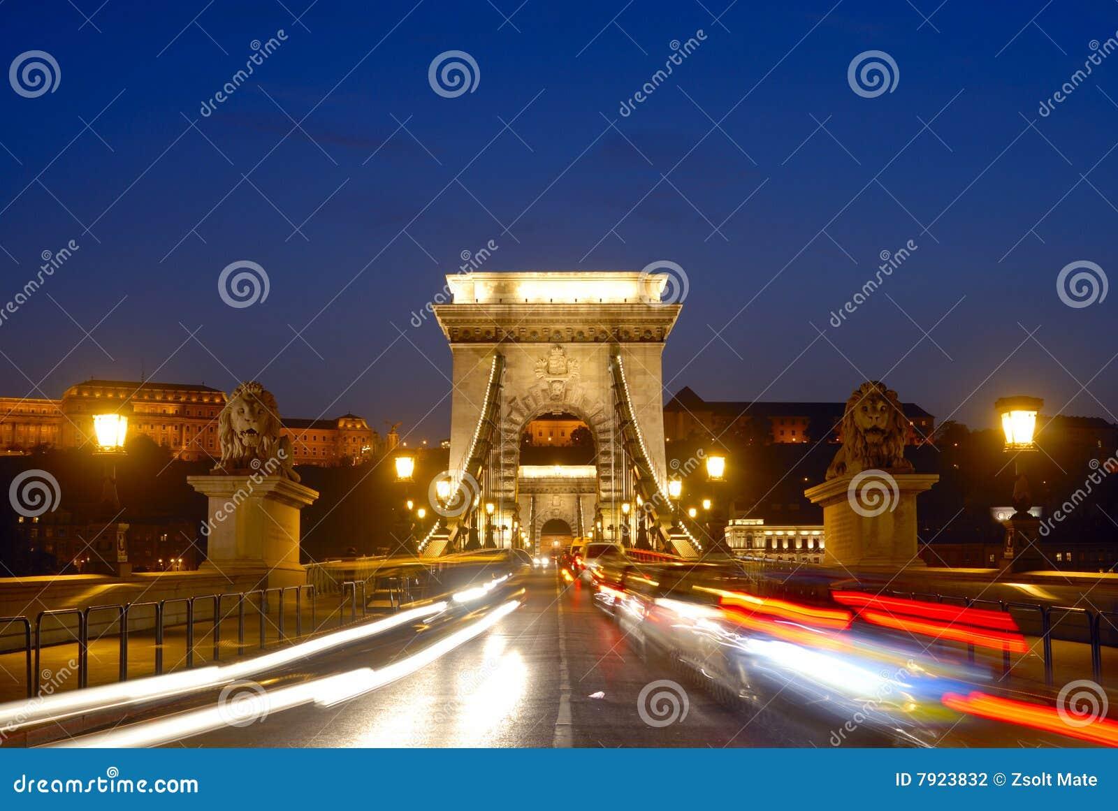 Puente de cadena de Budapest
