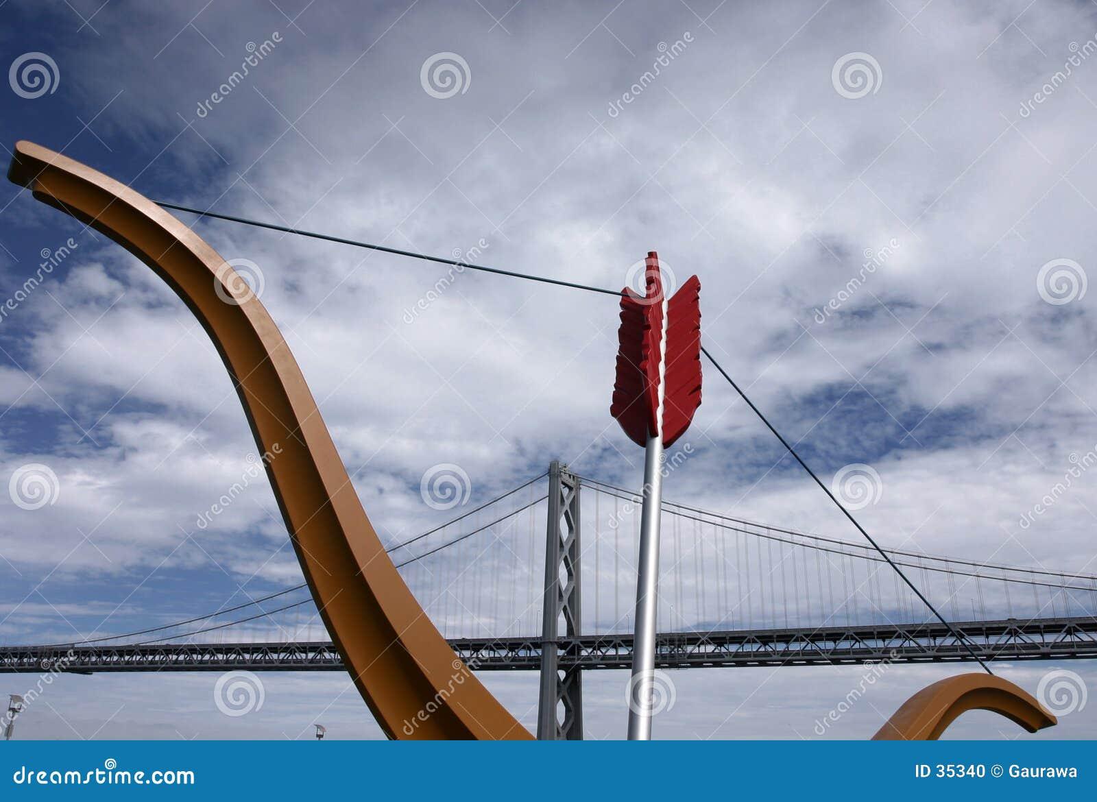 Download Puente De La Bahía, San Francisco Foto de archivo - Imagen de cielo, california: 35340