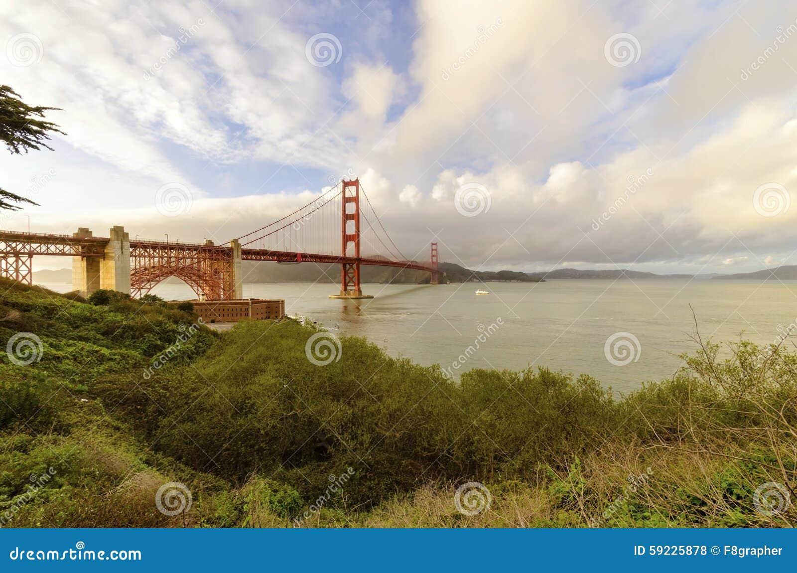 Download Puente De Puerta De Oro, San Francisco, California Foto de archivo - Imagen de bahía, costa: 59225878