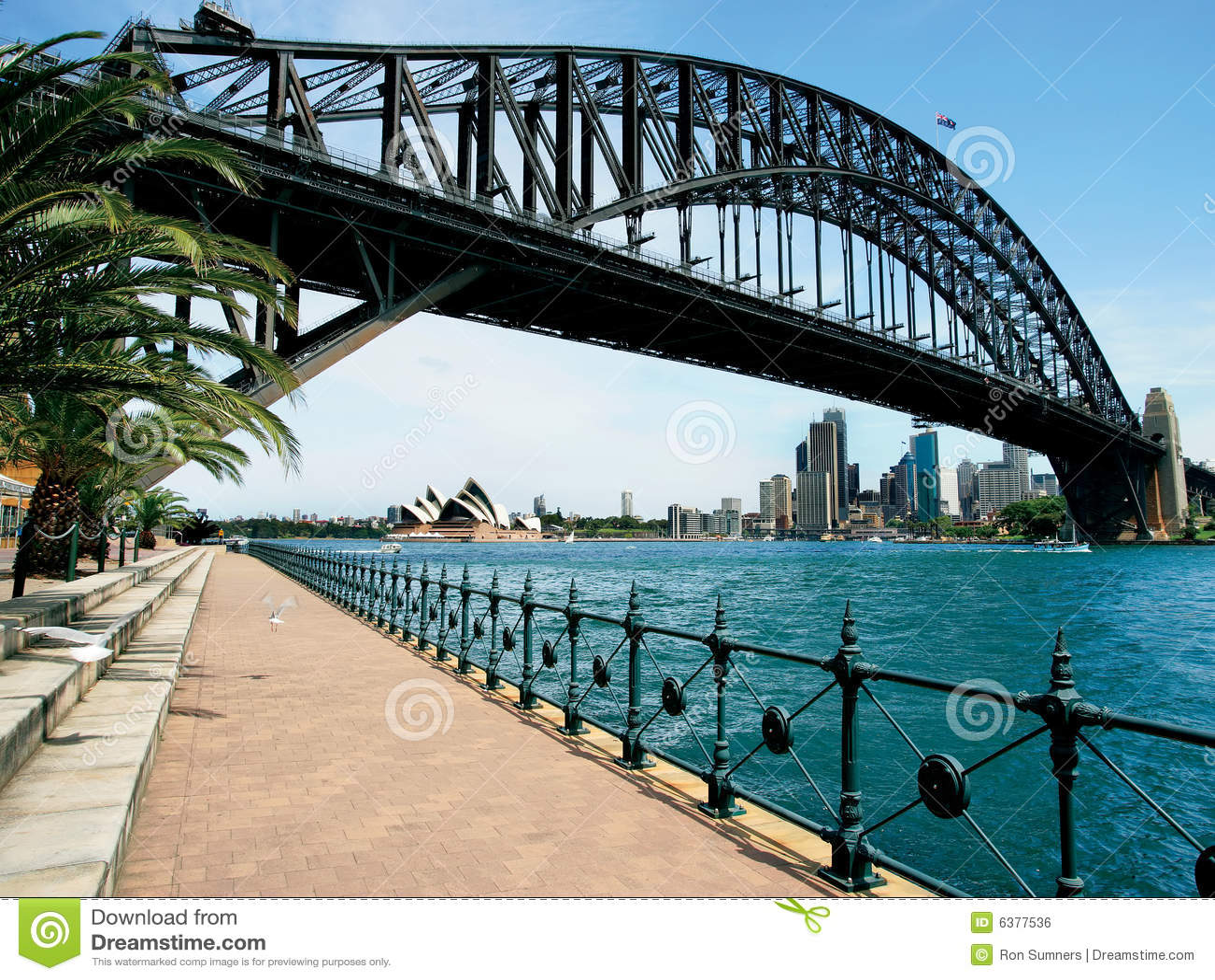 Puente de puerto de Sydney