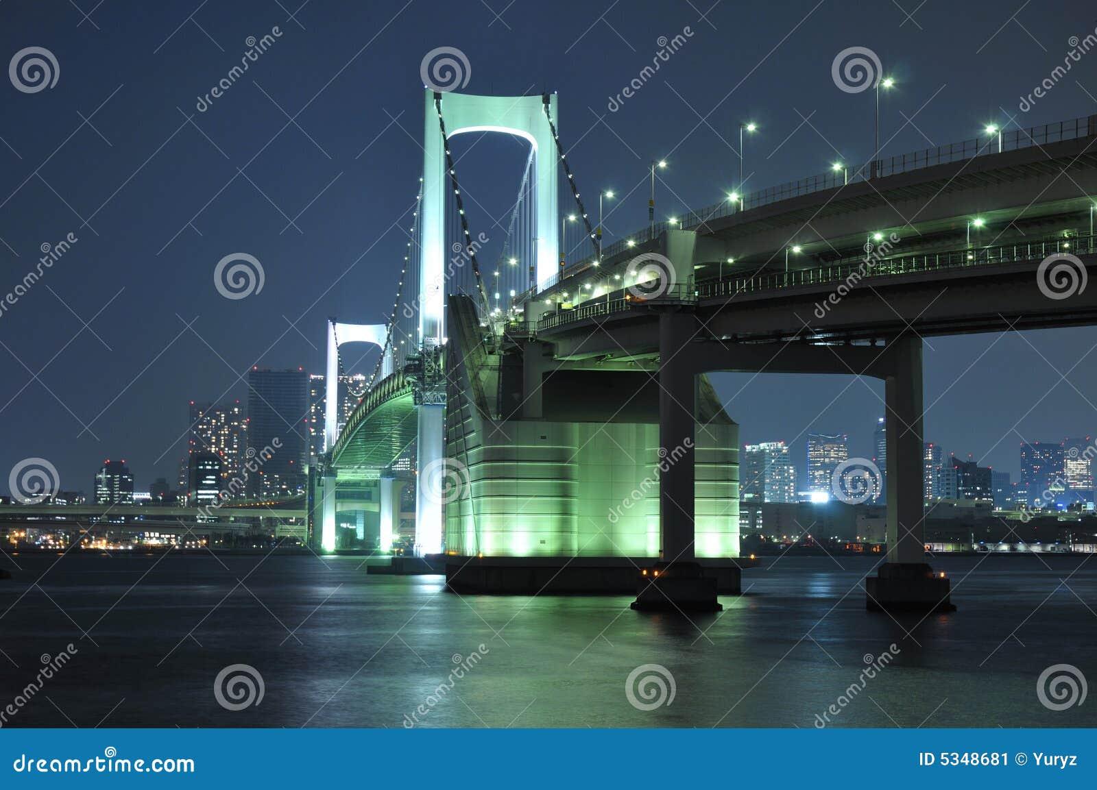 Puente del arco iris de Tokio