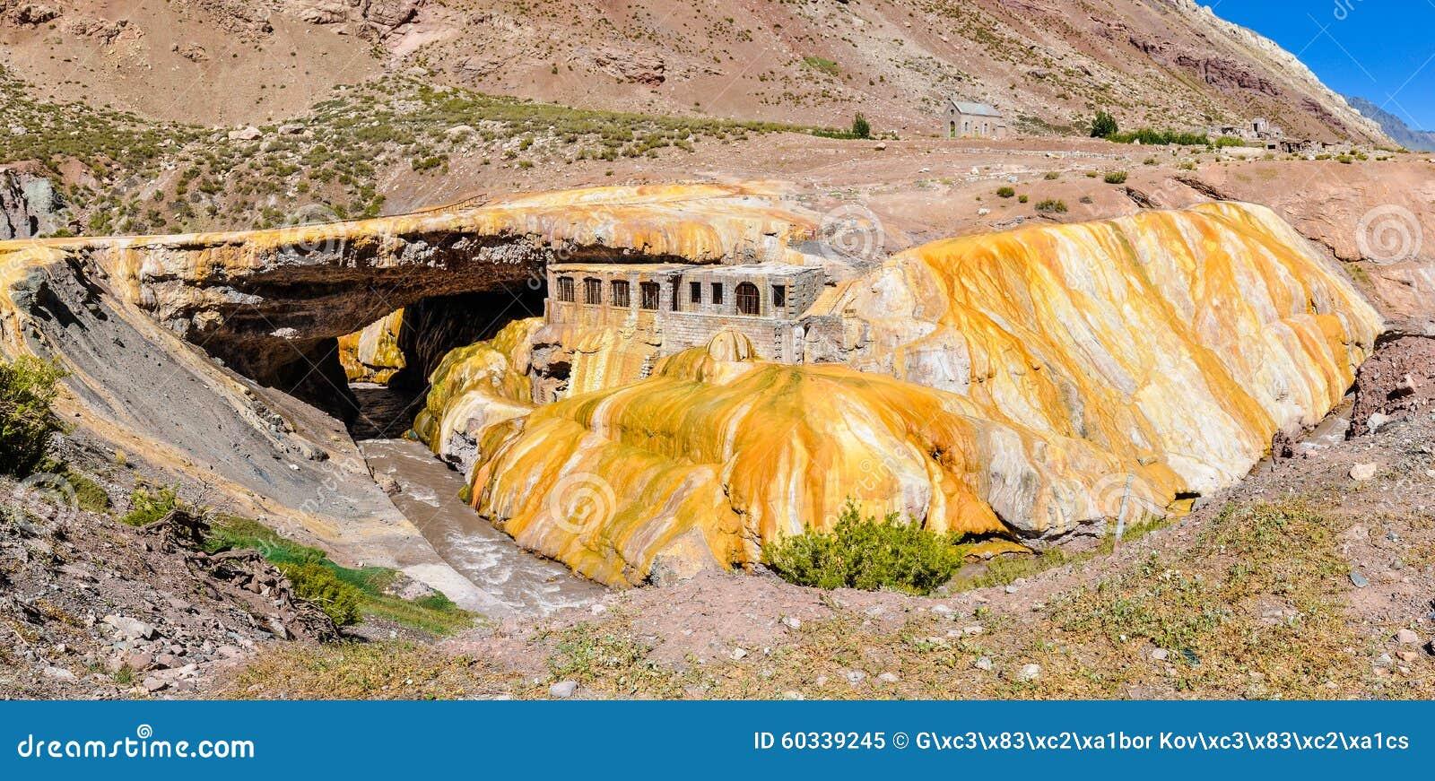 Puente del Inca, Anderna runt om Mendoza, Argentina