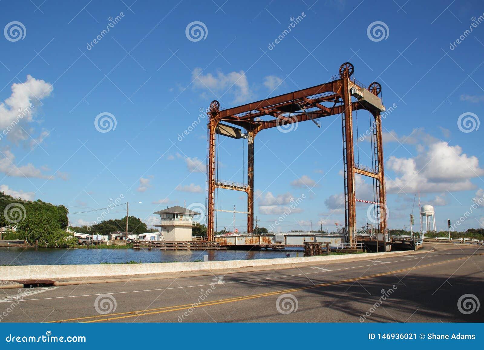 Puente del pantano de Luisiana