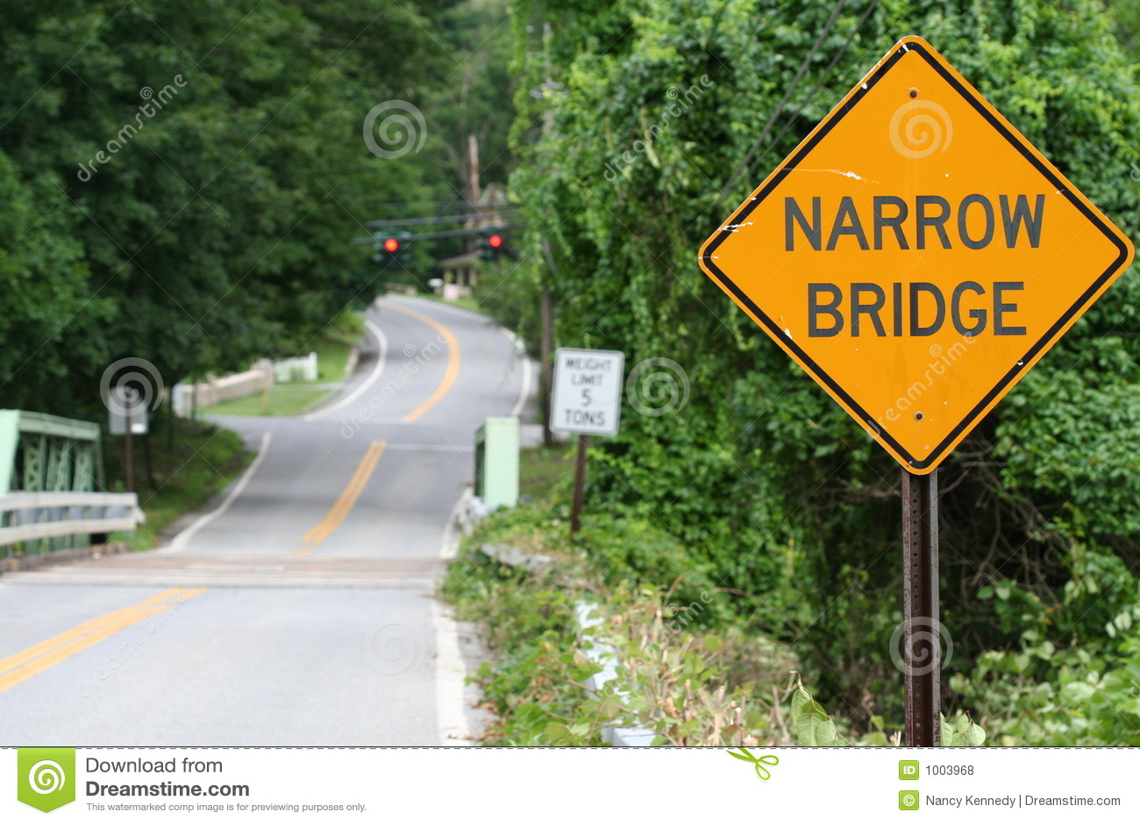Puente estrecho