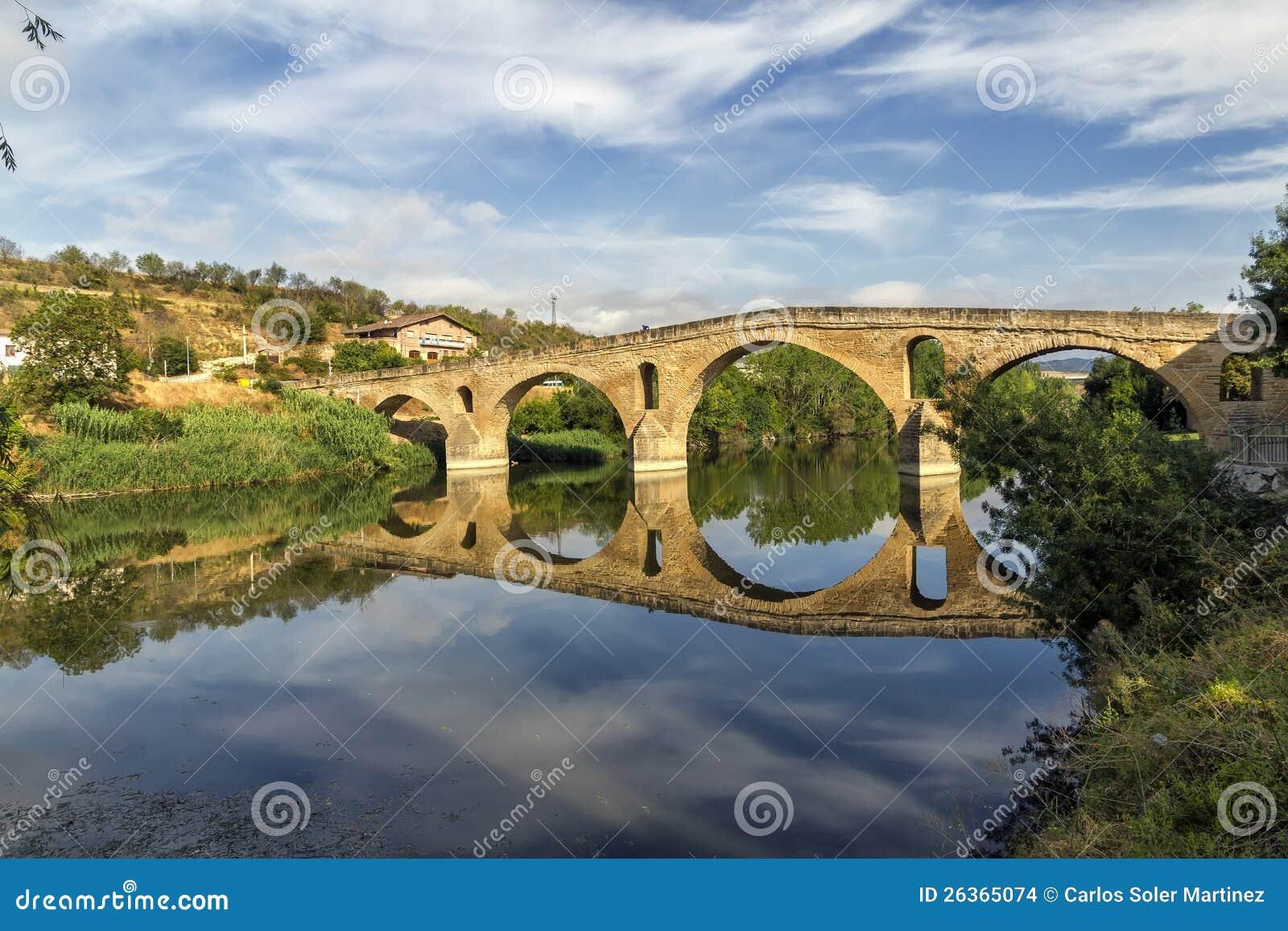 Puente La Reinabrücke, Navarre