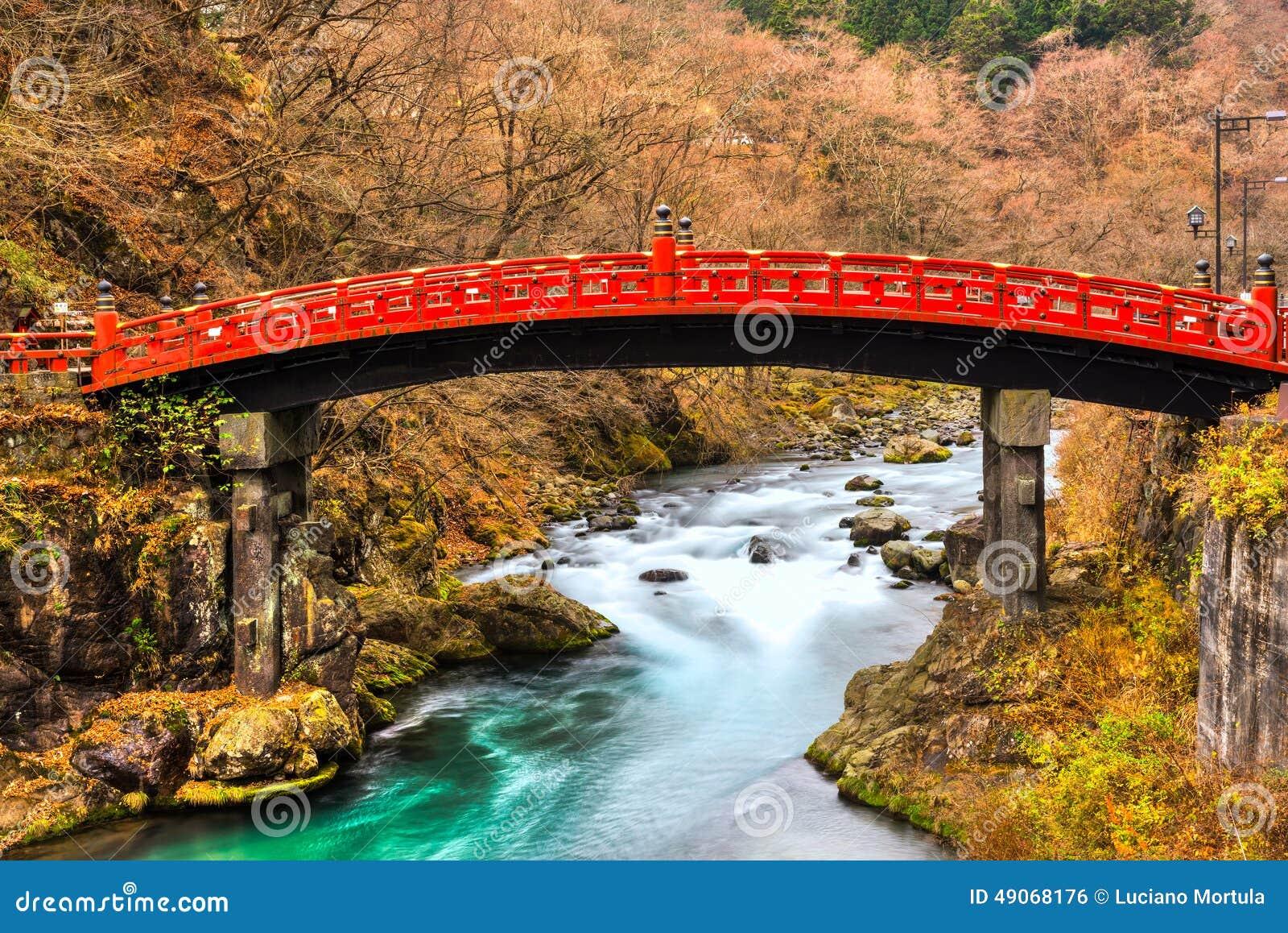 Puente sagrado de Nikko, Japón