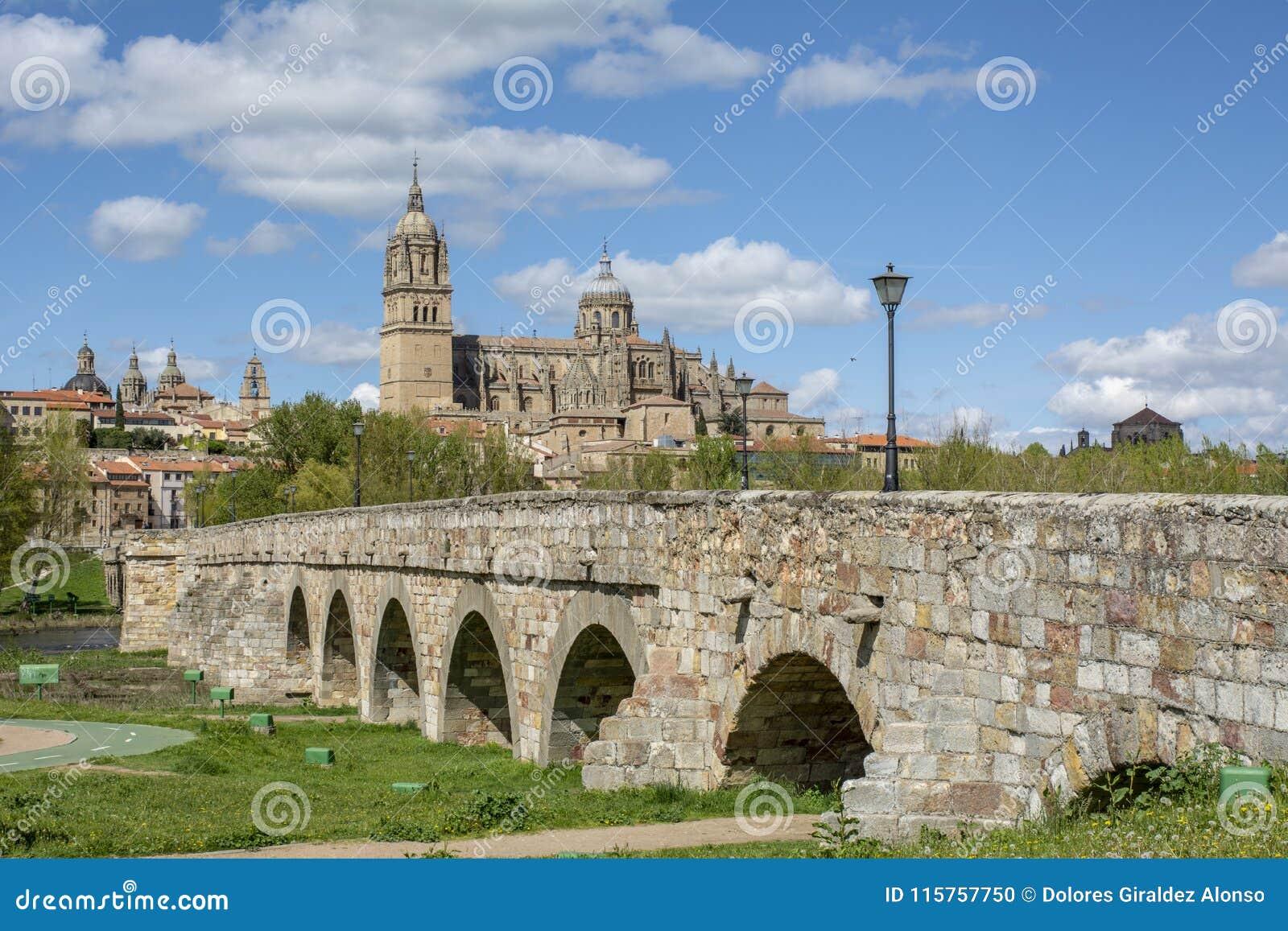 Puente y catedrales romanos de Salamanca